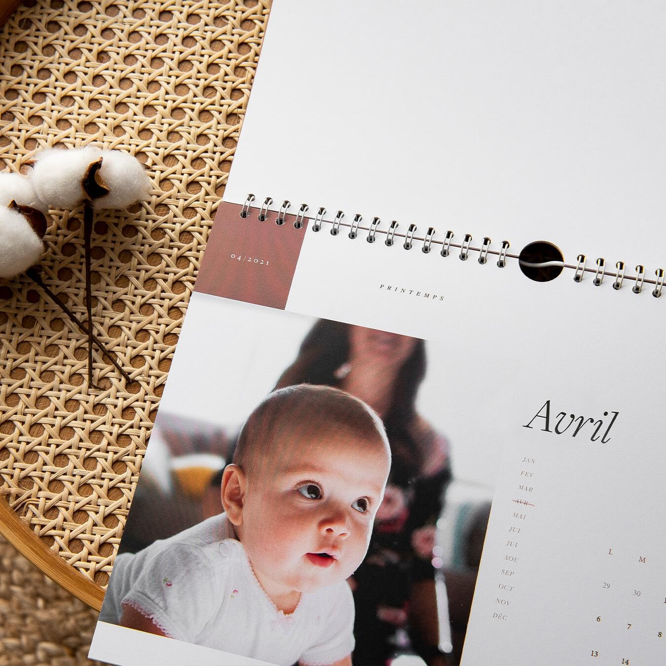 The Calendar - Personalized Calendar - Photo Calendar - Innocence Paris