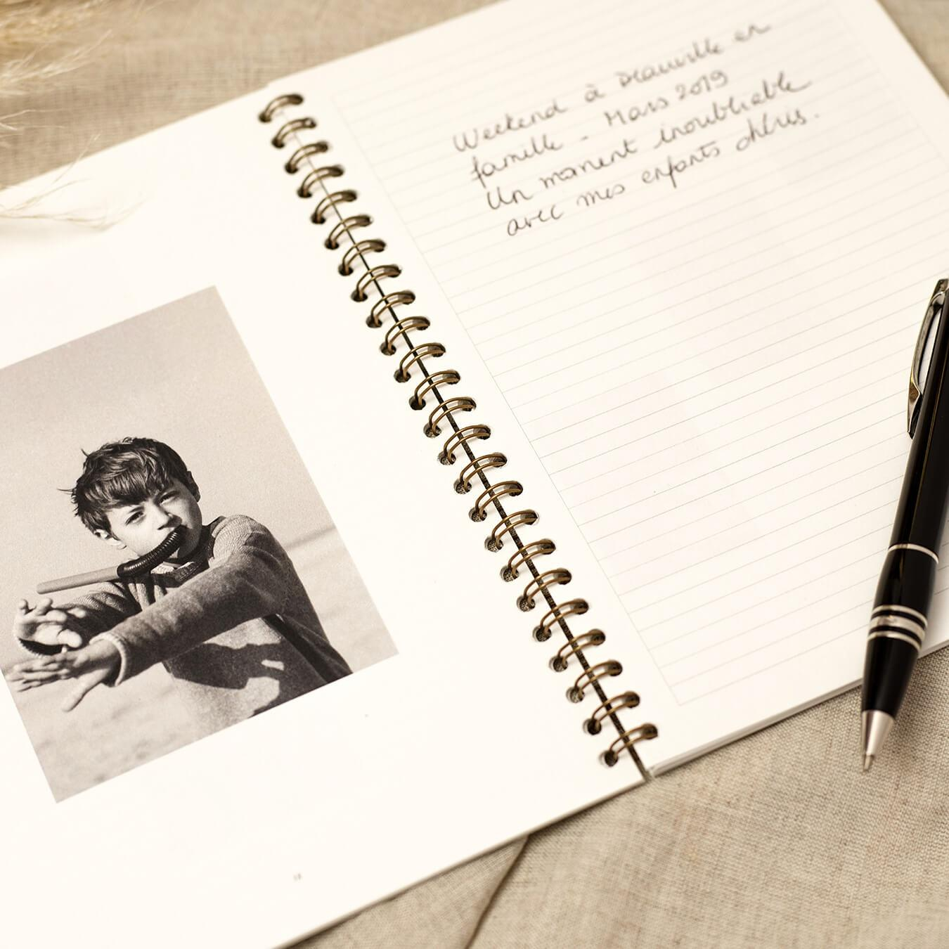 Innocence - Notebook - Customized photo album