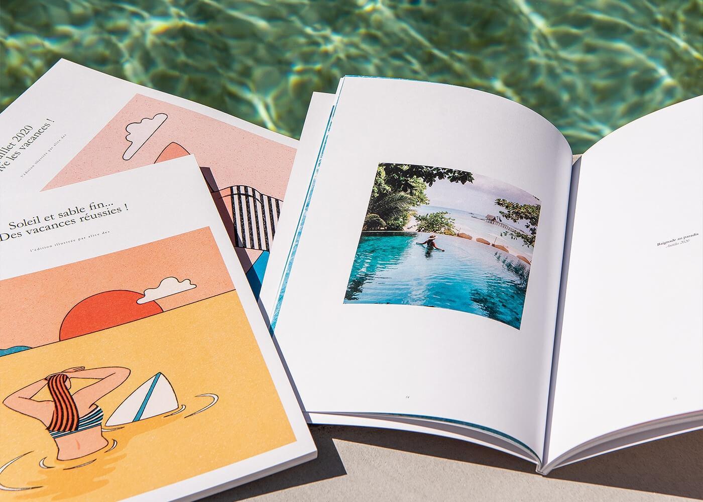 Innocence - Edition - Impression - Photos - Illustration - Alice Des - Album Photos - Album photo vacances