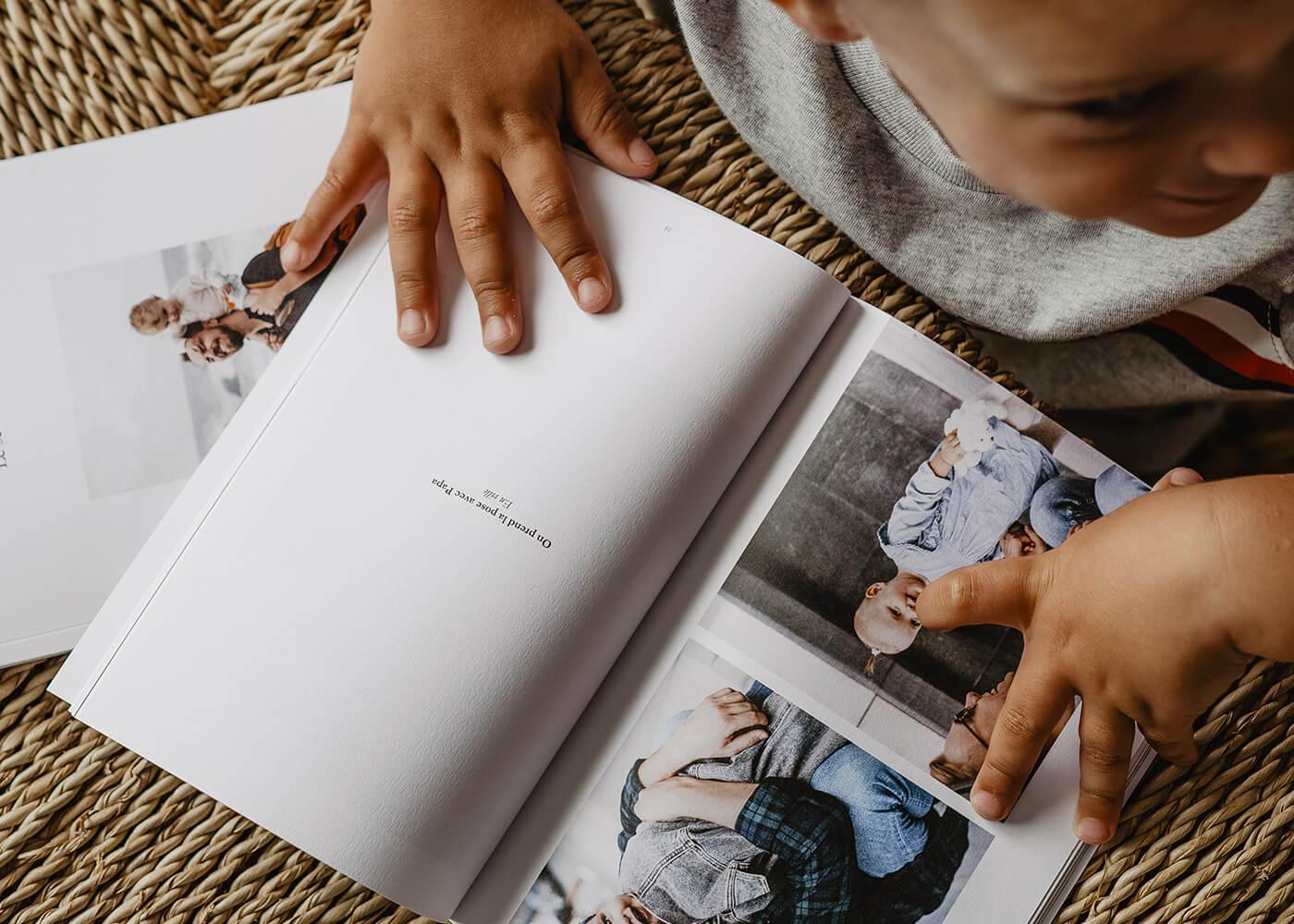 Innocence - Souvenirs - Impression album photo -  Famille - Grand format