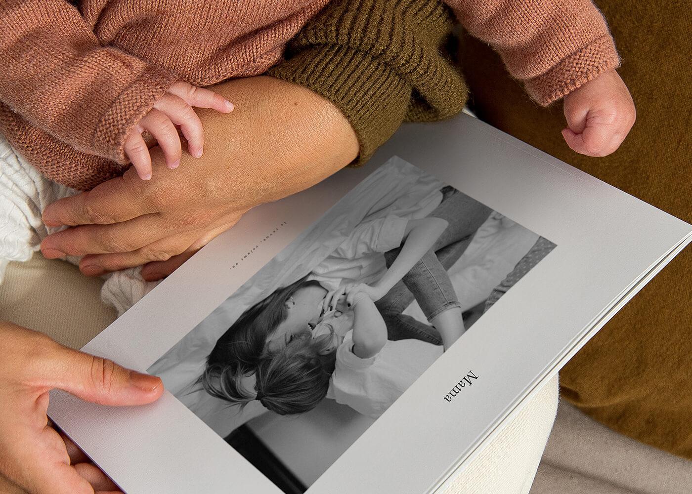 Innocence - Souvenirs - Impression album photo - Fête des mères - Offrir - Cadeau