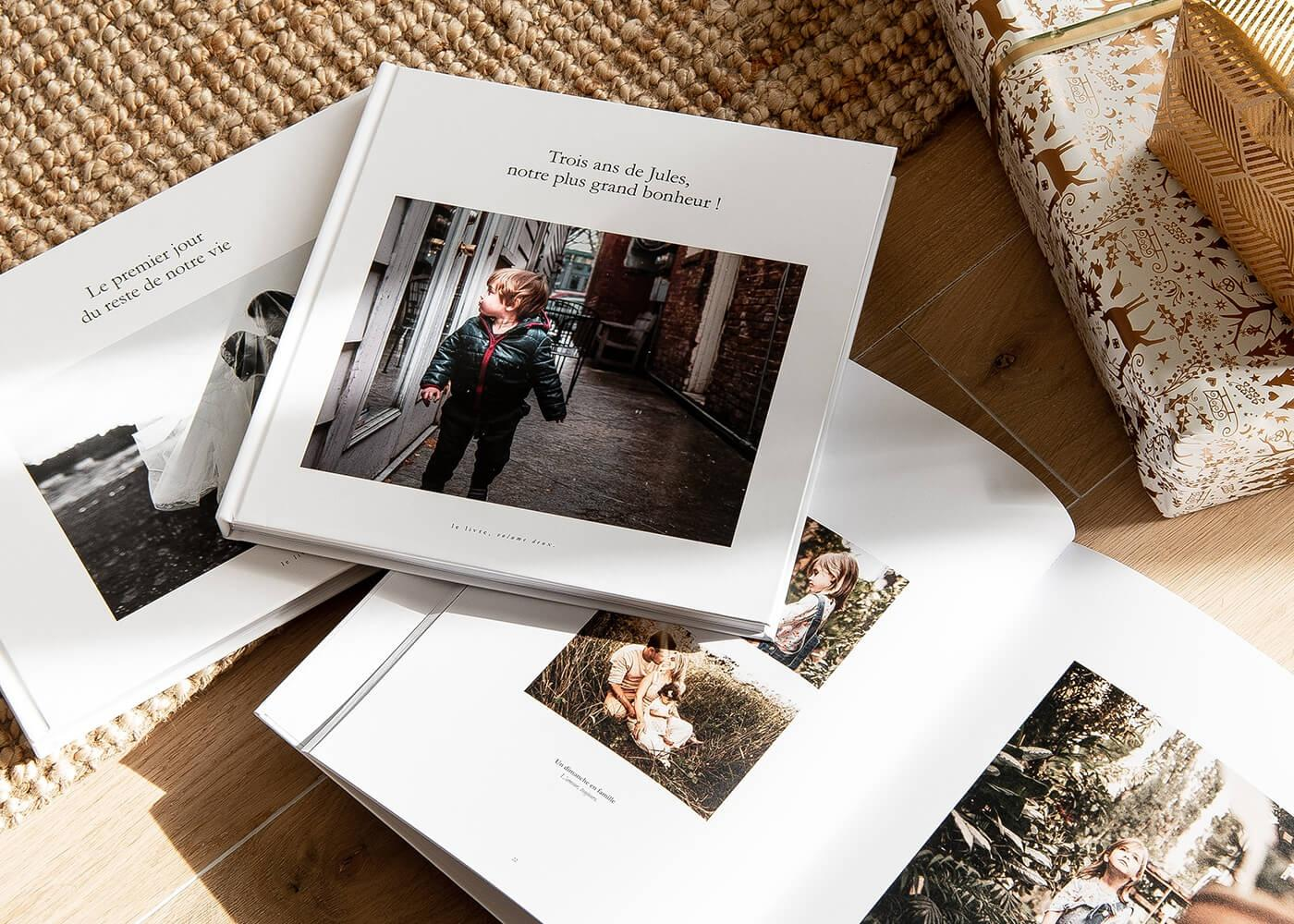 Innocence - Précieux souvenirs - Album photo personnalisé